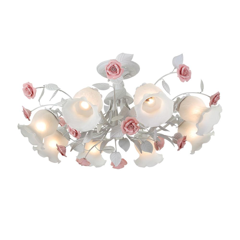 Люстра потолочная Lucia Tucci Fiori di rose 114.8