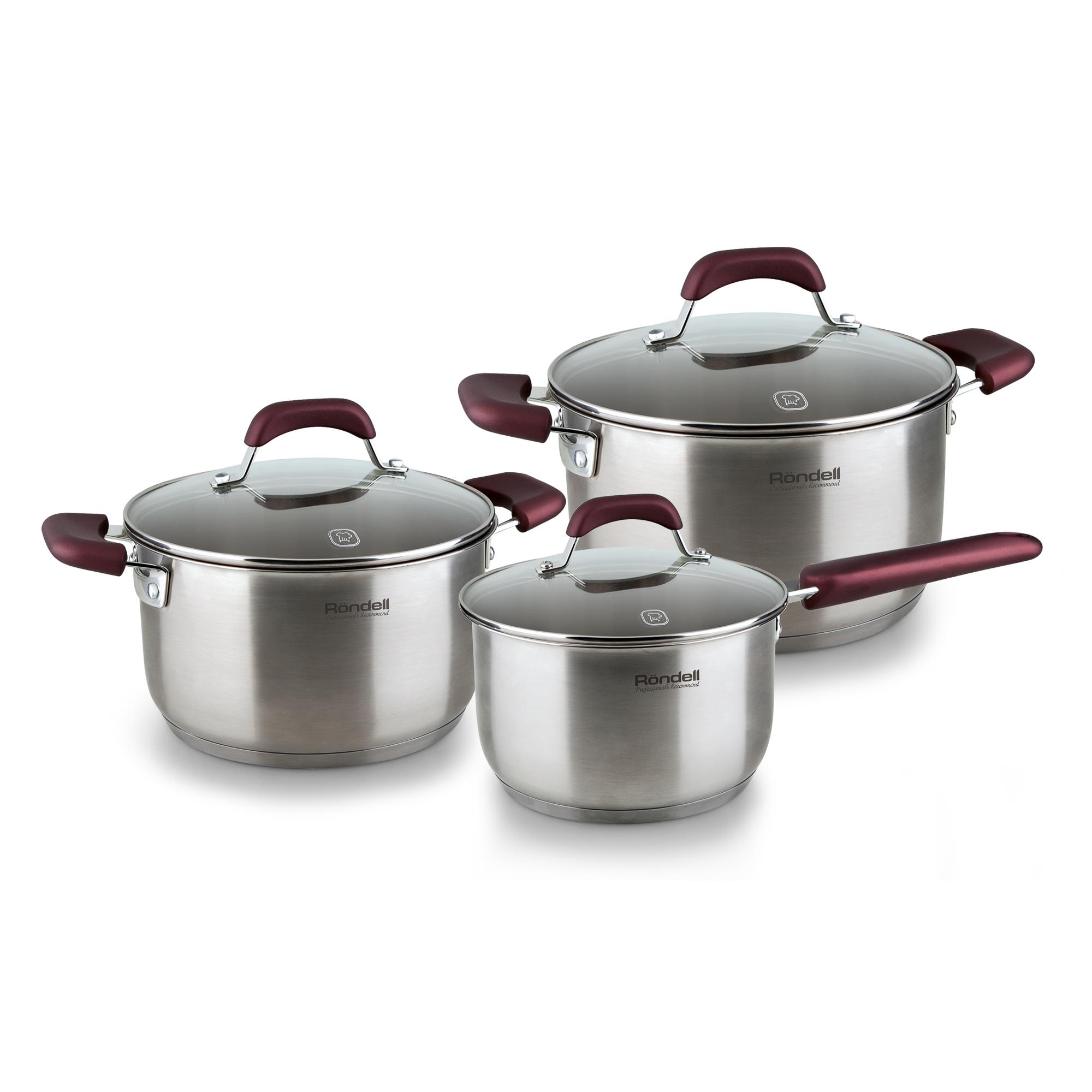 Набор посуды Rondell Bojole 6 предметов набор посуды rondell bojole rds 823
