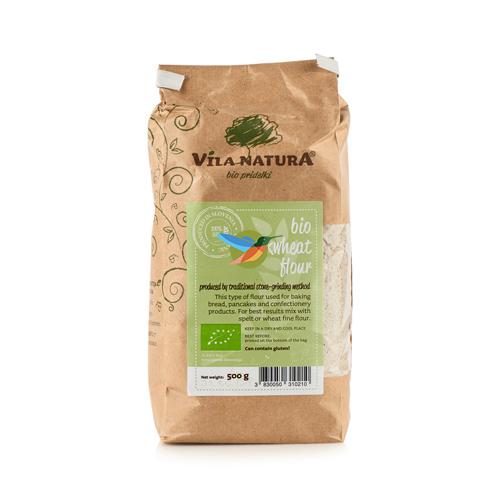 Мука гречневая жерновая био Vila Natura 500 г крупа гречневая vila natura 1 кг