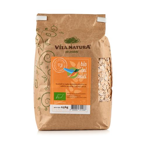 Хлопья Vila Natura Bio пшеничные 500 г