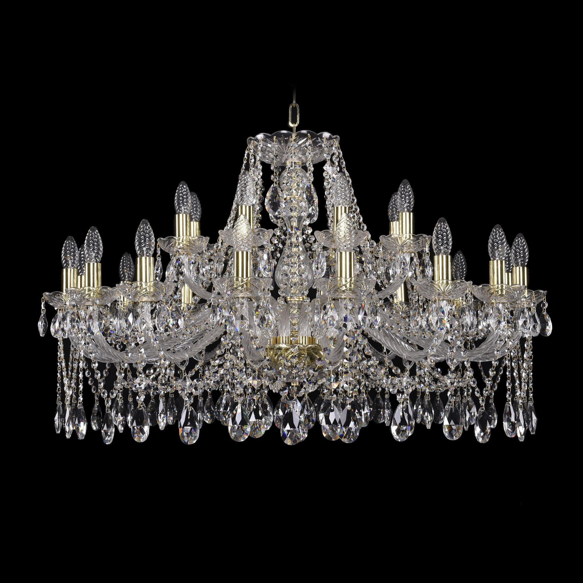 Bohemia Ivele Crystal 1413/16+8/360 G люстра bohemia ivele crystal 1402 1402 8 195 g m731 e14 320 вт