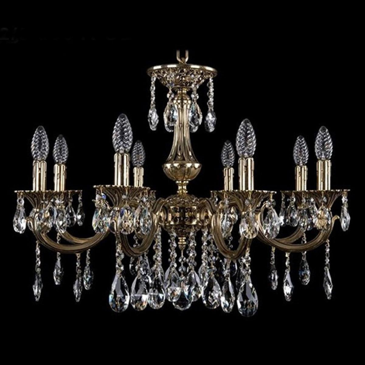 Bohemia Ivele Crystal 1702/8/265A GB люстра bohemia ivele crystal золото беленое 1702 10 335a