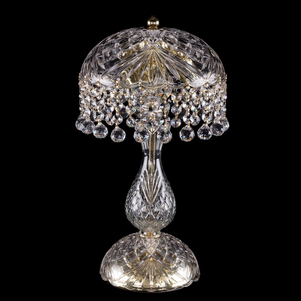 Настольная лампа Bohemia Ivele Crystal Balls 5011/22-42 люстра bohemia ivele crystal 1406 1406 8 240 g balls e14 320 вт