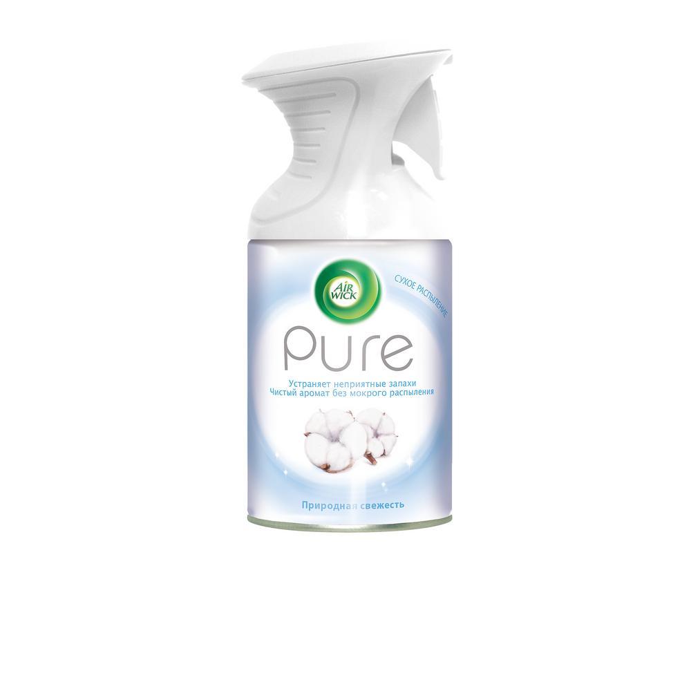 Освежитель воздуха Air Wick Pure Природная свежесть аэрозольный 250 мл недорого