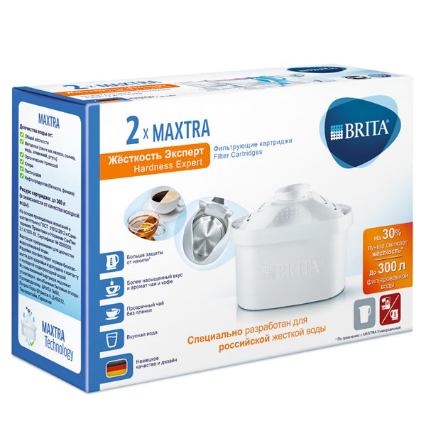Макстра Brita жесткость эксперт упаковка 2