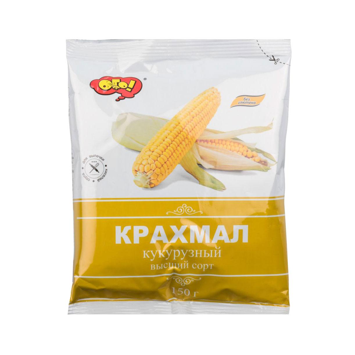 Крахмал кукурузный ОГО! 150 г