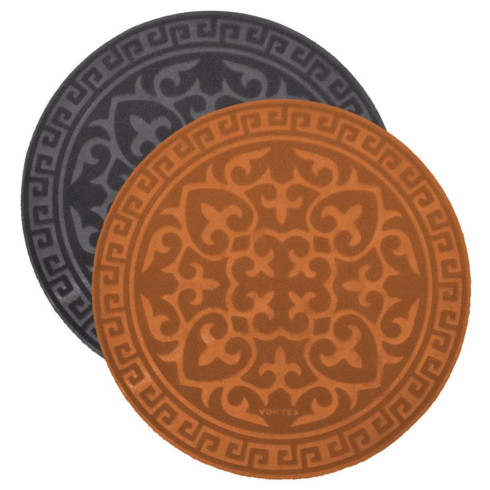 Коврик Vortex придверный COMFORT, D 65см., круглый коврик vortex придверный comfort d 65см круглый