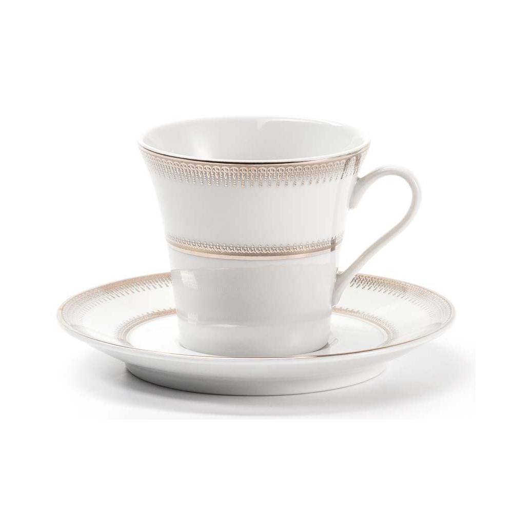 Набор кофейный La Rose des Sables из 12 предметов Princier Platine сервиз столовый la rose des sables 6 персон 25 предметов princier platine