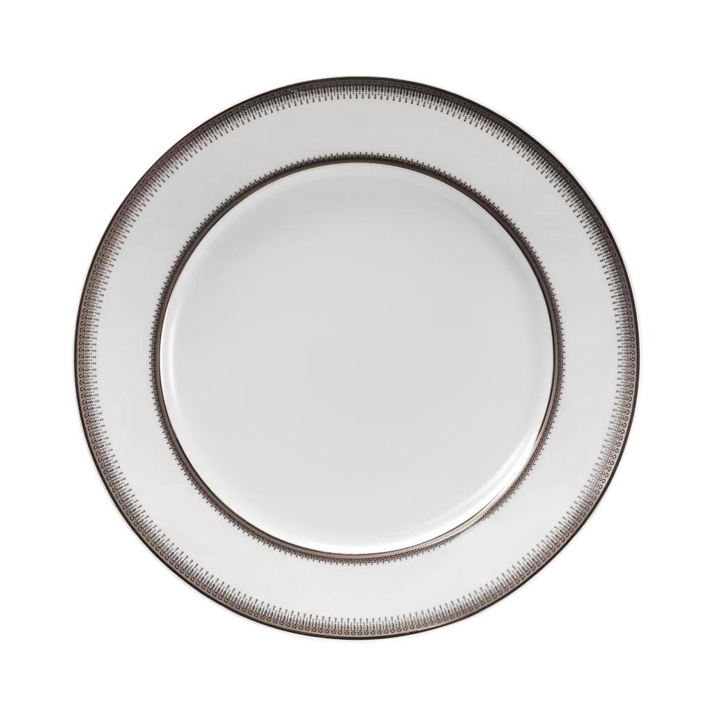 Набор тарелок La Rose des Sables из 6 предметов Princier Platine 27 см фото