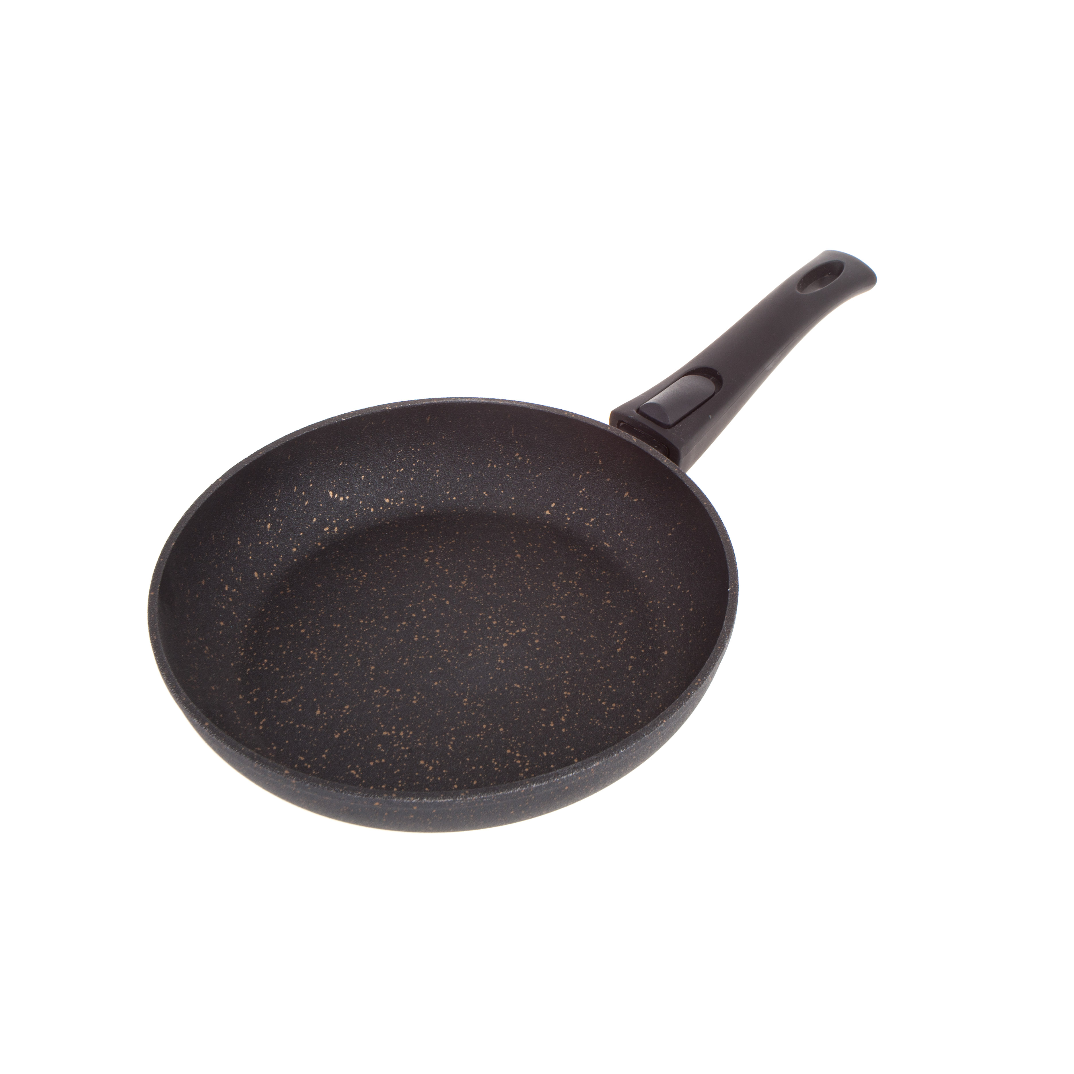 Сковорода Fissman Black Cosmic 24 см сковорода d 24 см kukmara кофейный мрамор смки240а