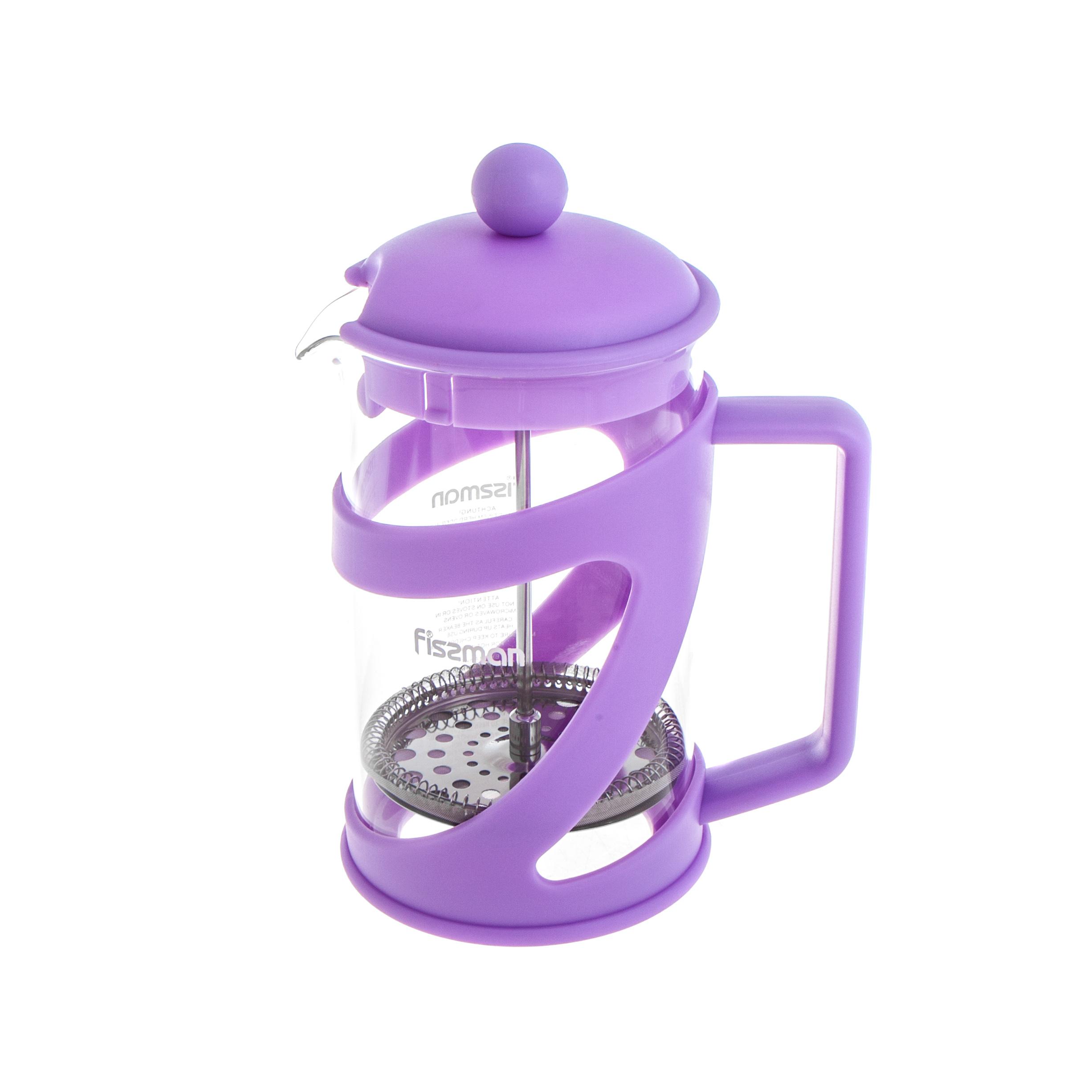 Чайник заварочный Fissman Arabica 800 мл чайник заварочный latte 600мл с поршнем стеклянная колба
