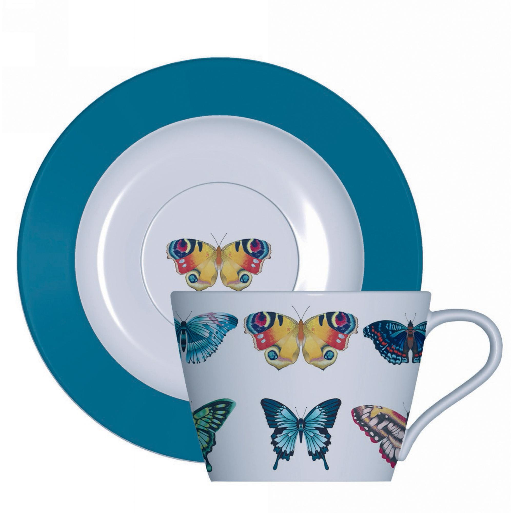 Фото - Набор кофейный Churchill Бабочки 4 предмета набор чайный гималайские цветы 3 предмета churchill himf00081