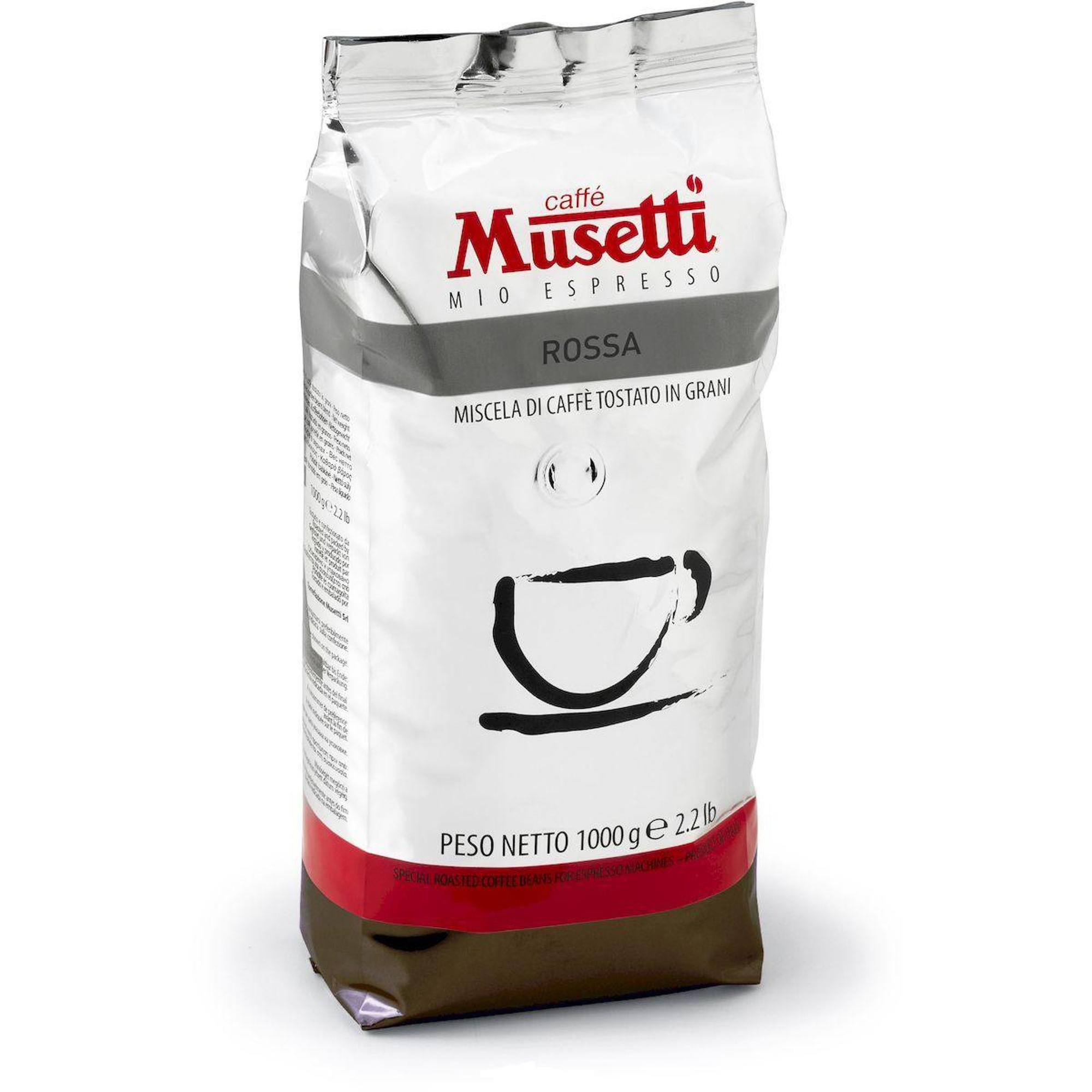 Кофе в зернах Musetti Rossa 1 кг кофе в зернах lavazza qualita rossa 1 кг