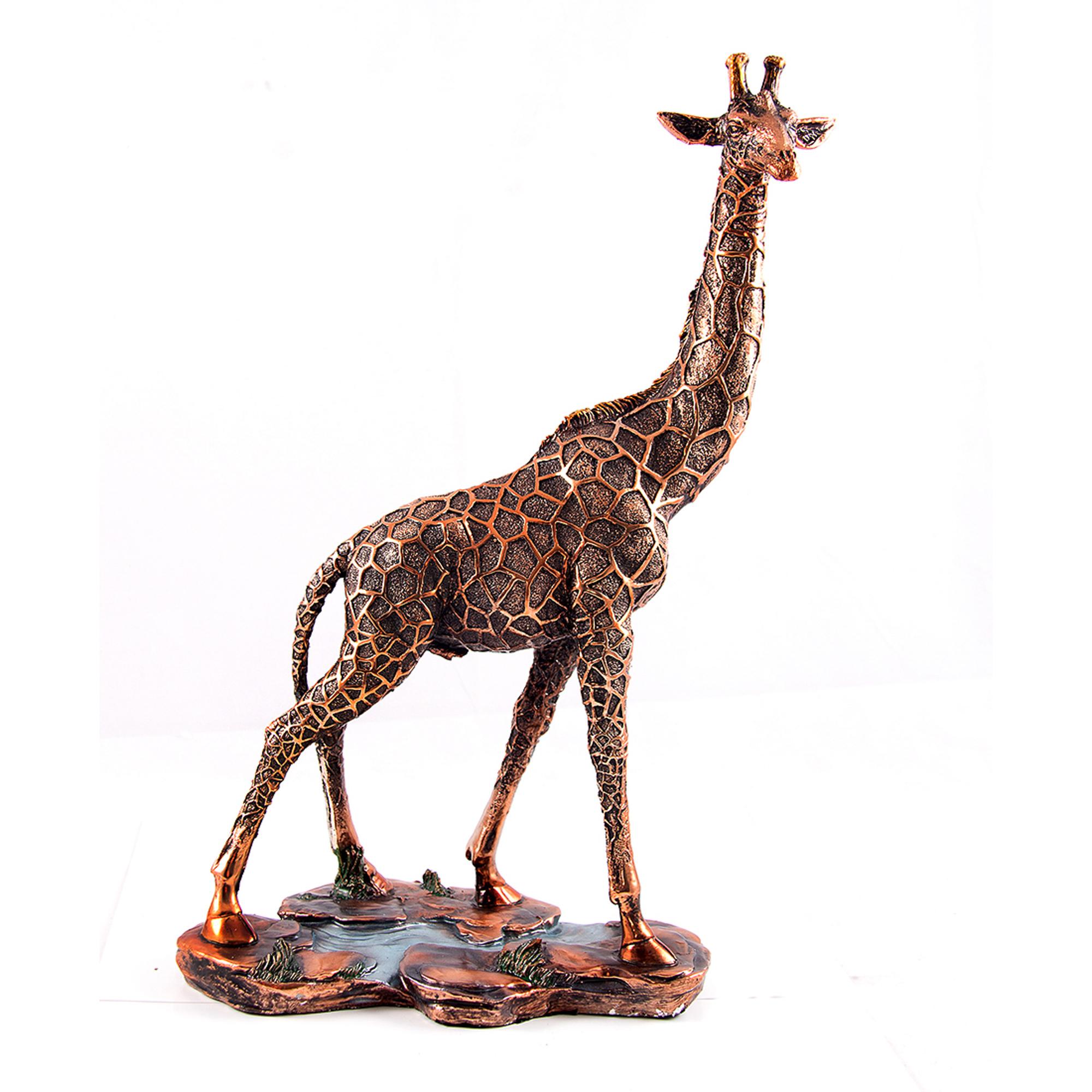 Статуэтка Русские подарки Жираф 25х37 см фото