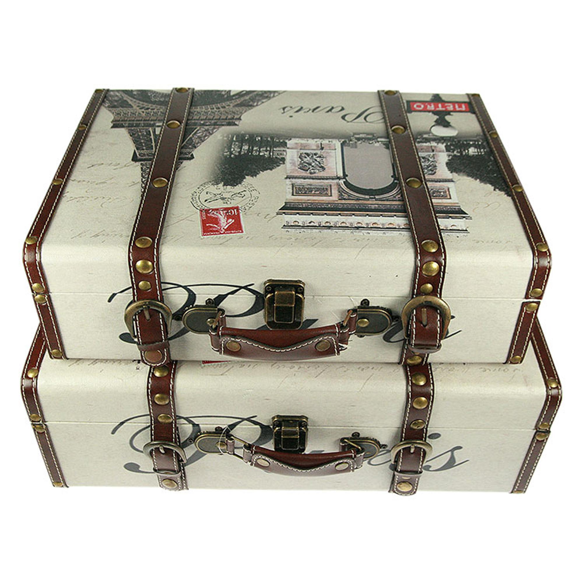 Набор сундучков Русские подарки 2 шт 49х38х17 см набор шкатулок фолиантов русские подарки 2 шт 27х18х7 см