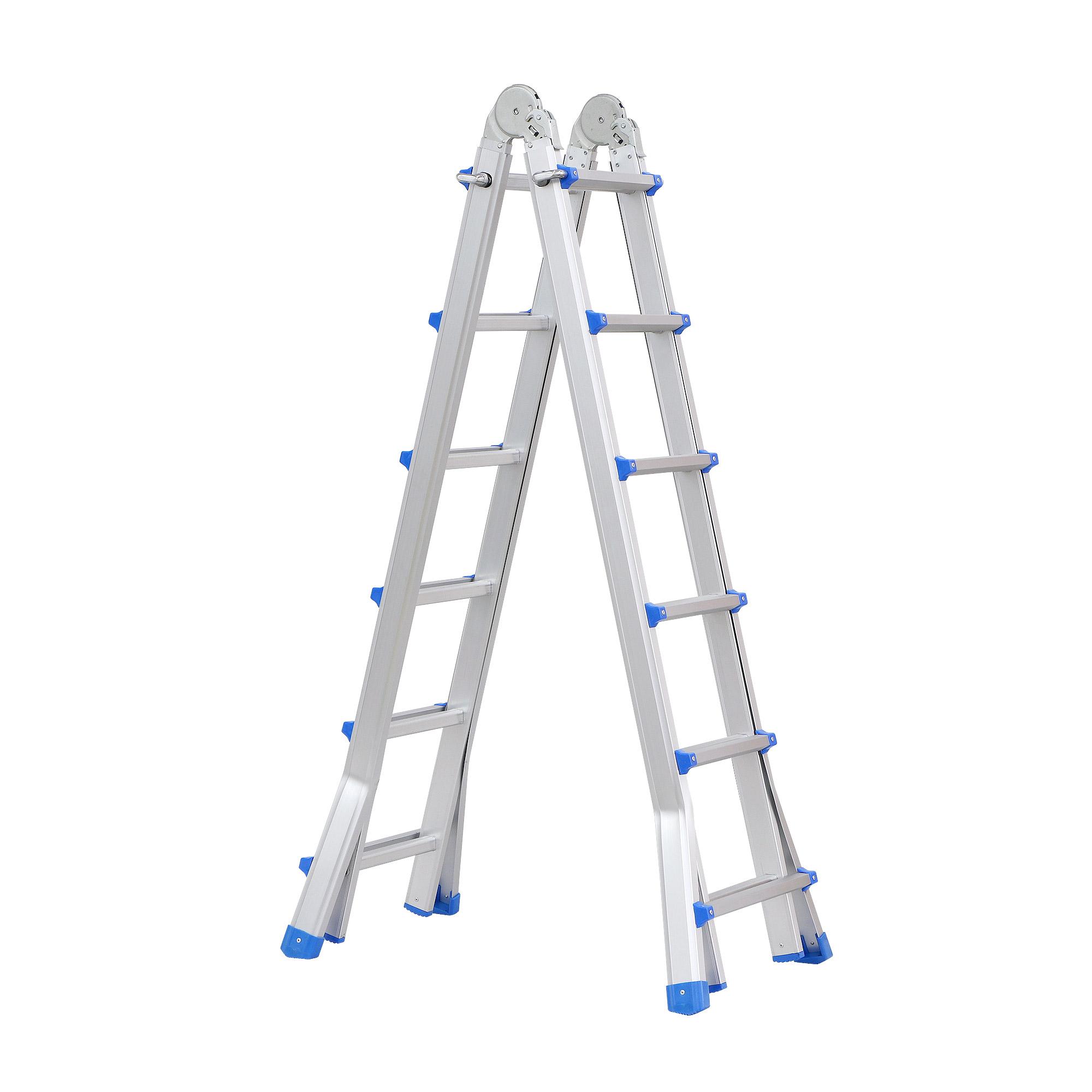 Лестница многофункциональная Deli 4х6