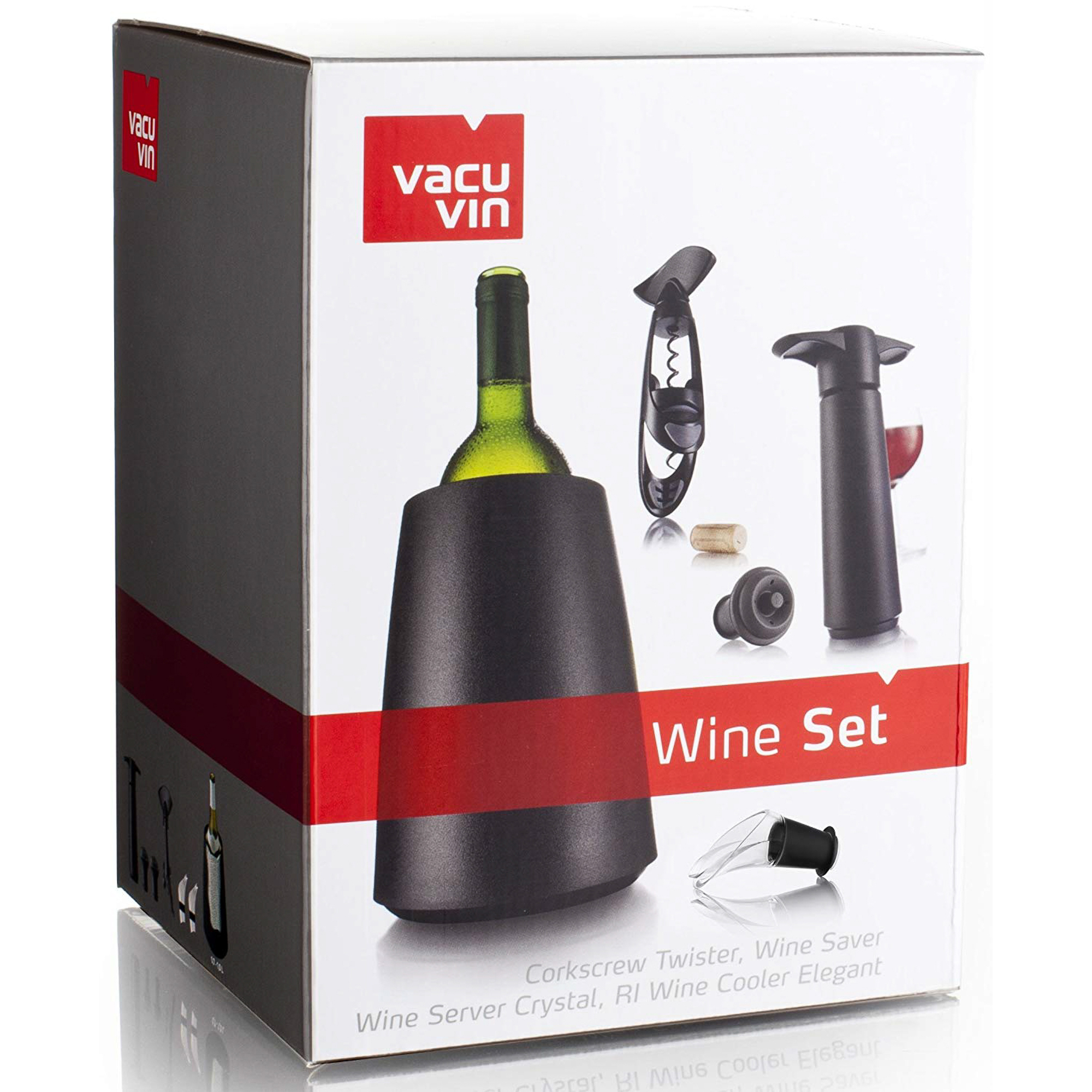 Фото - Набор для вина подарочный Vacu vin набор подарочный для вина 6 пред эксперт