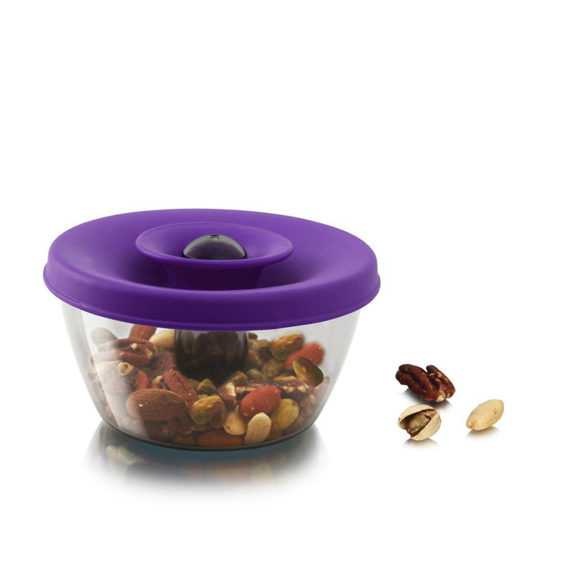 Фото - Емкость для хранения 0.45 л фиолетовый Tomorrow's kitchen емкость для хранения modern kitchen средняя золотистая