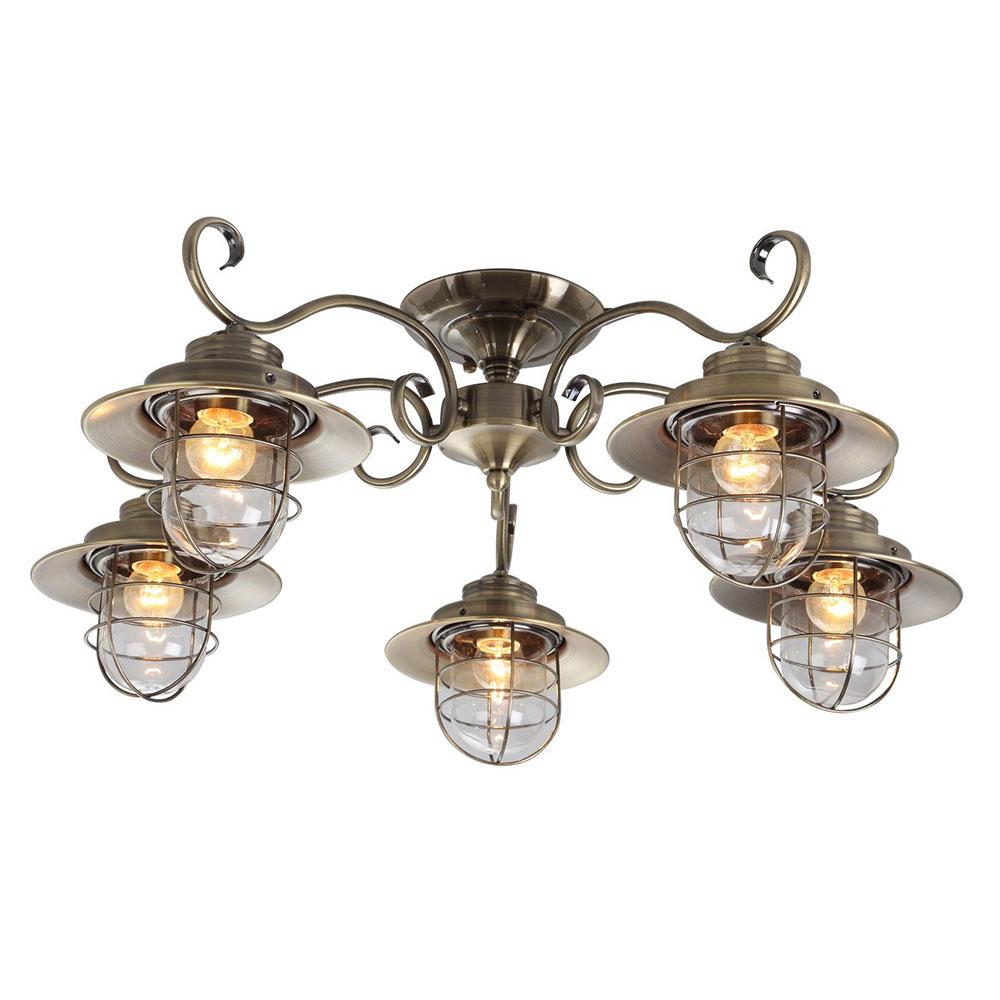 Светильник потолочный Arte Lamp A4579PL-5AB фото