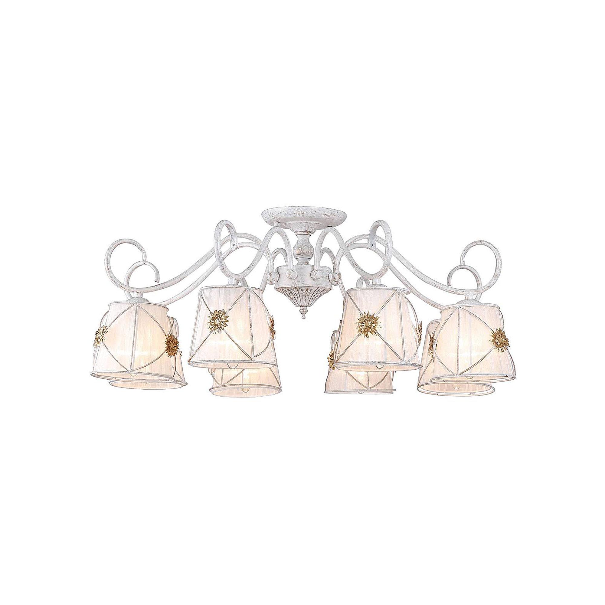 Фото - Люстра потолочная Arte Lamp A5495PL-8WG люстра потолочная arte lamp gelo a6001pl 9bk