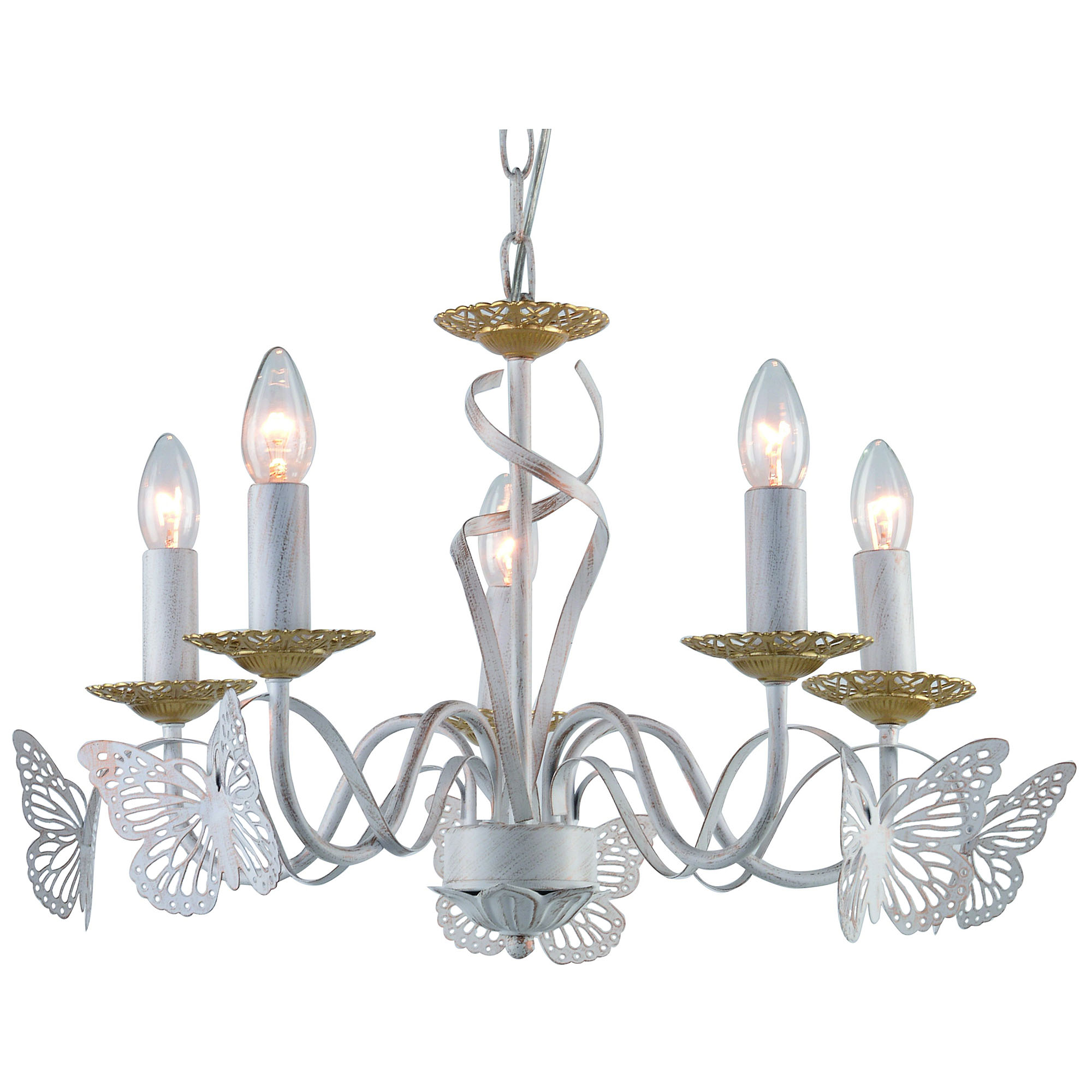 Люстра подвесная на цепи Arte Lamp A6114LM-5WG люстра подвесная на цепи arte lamp a6114lm 5wg
