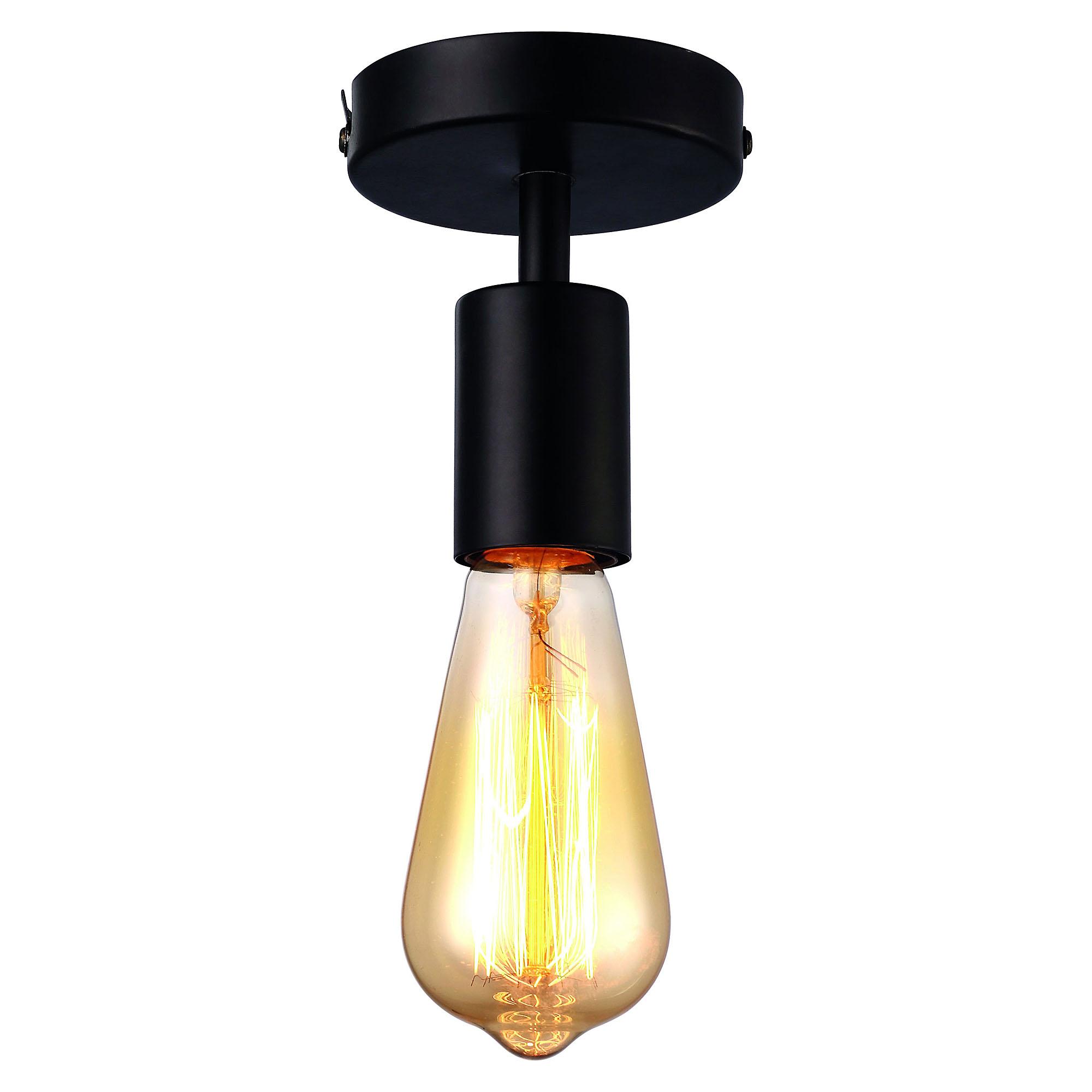 Светильник потолочный Arte Lamp A9184PL-1BK потолочный светильник arte lamp a1460pl 1bk