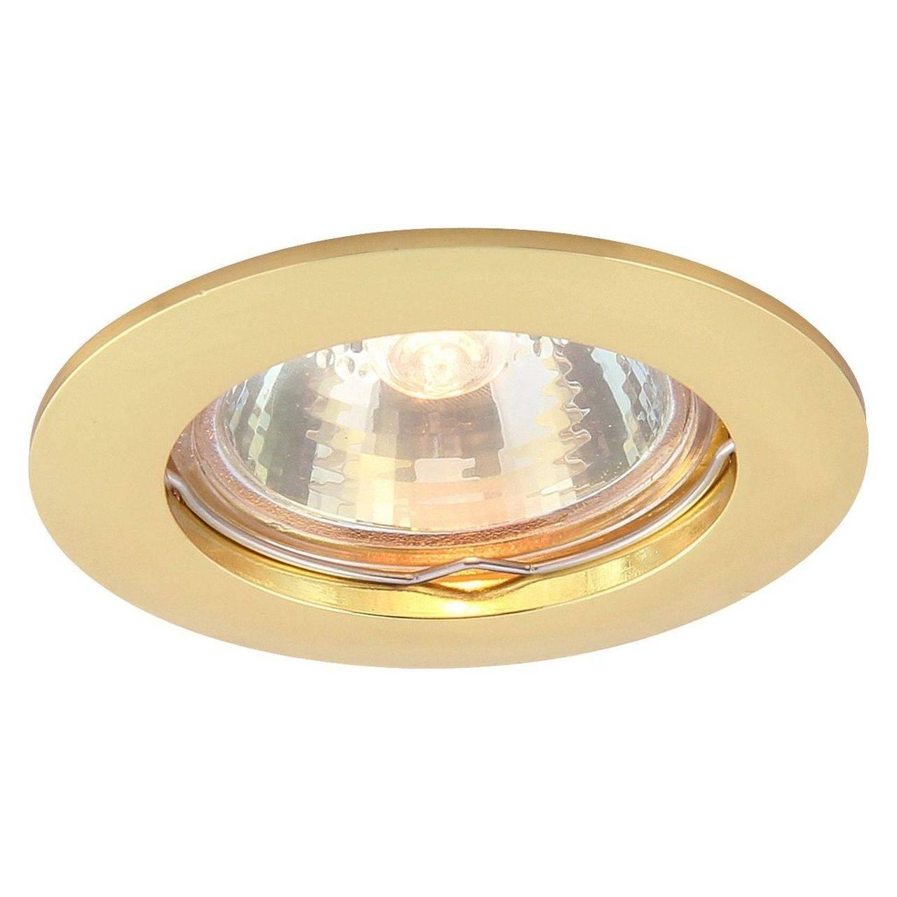 Встраиваемый светильник Arte Lamp Basic A2103PL-1GO