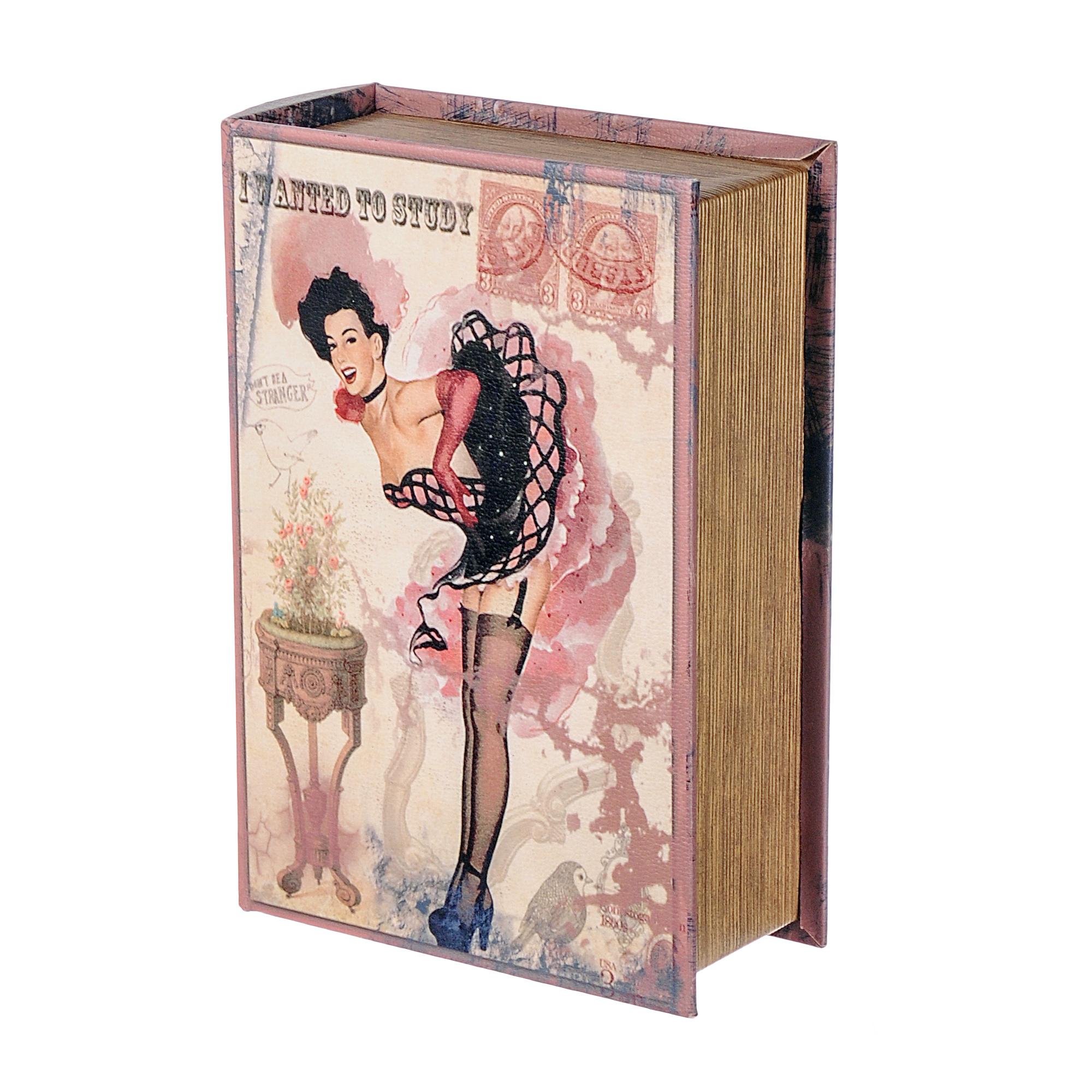 Шкатулка книга большая G.r. Arts and crafts 19х8х27 см