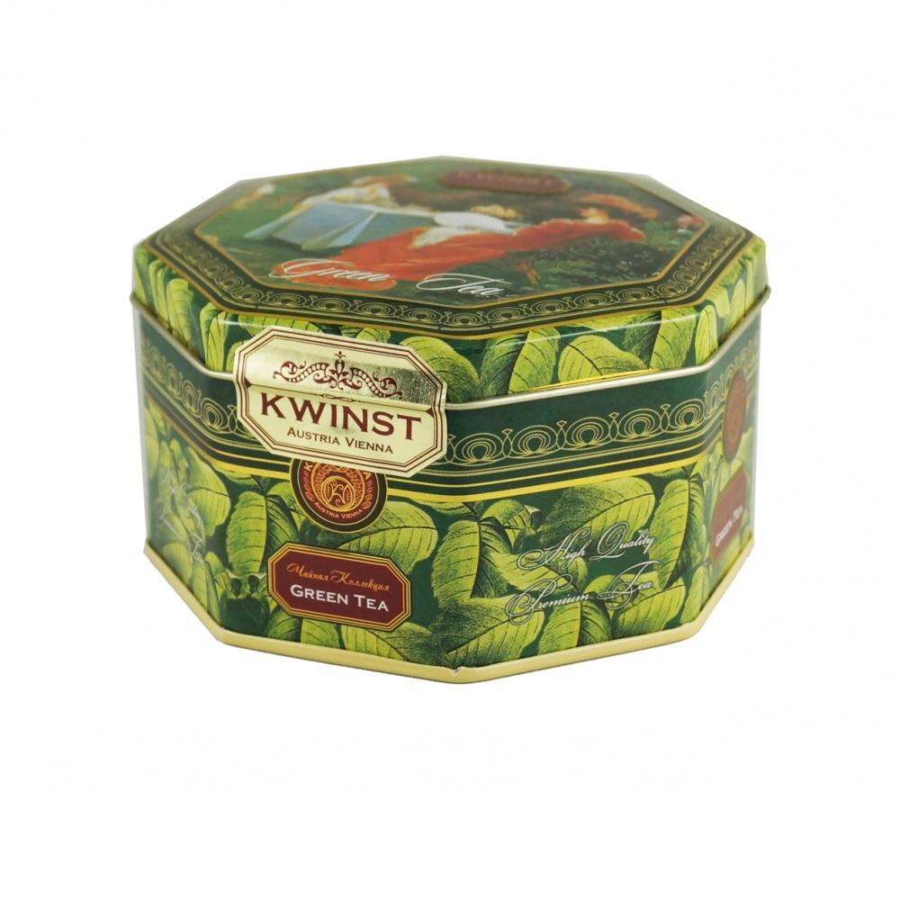 Чай зеленый Kwinst Беседа 80 г чай зеленый kwinst китайский 100 пакетиков