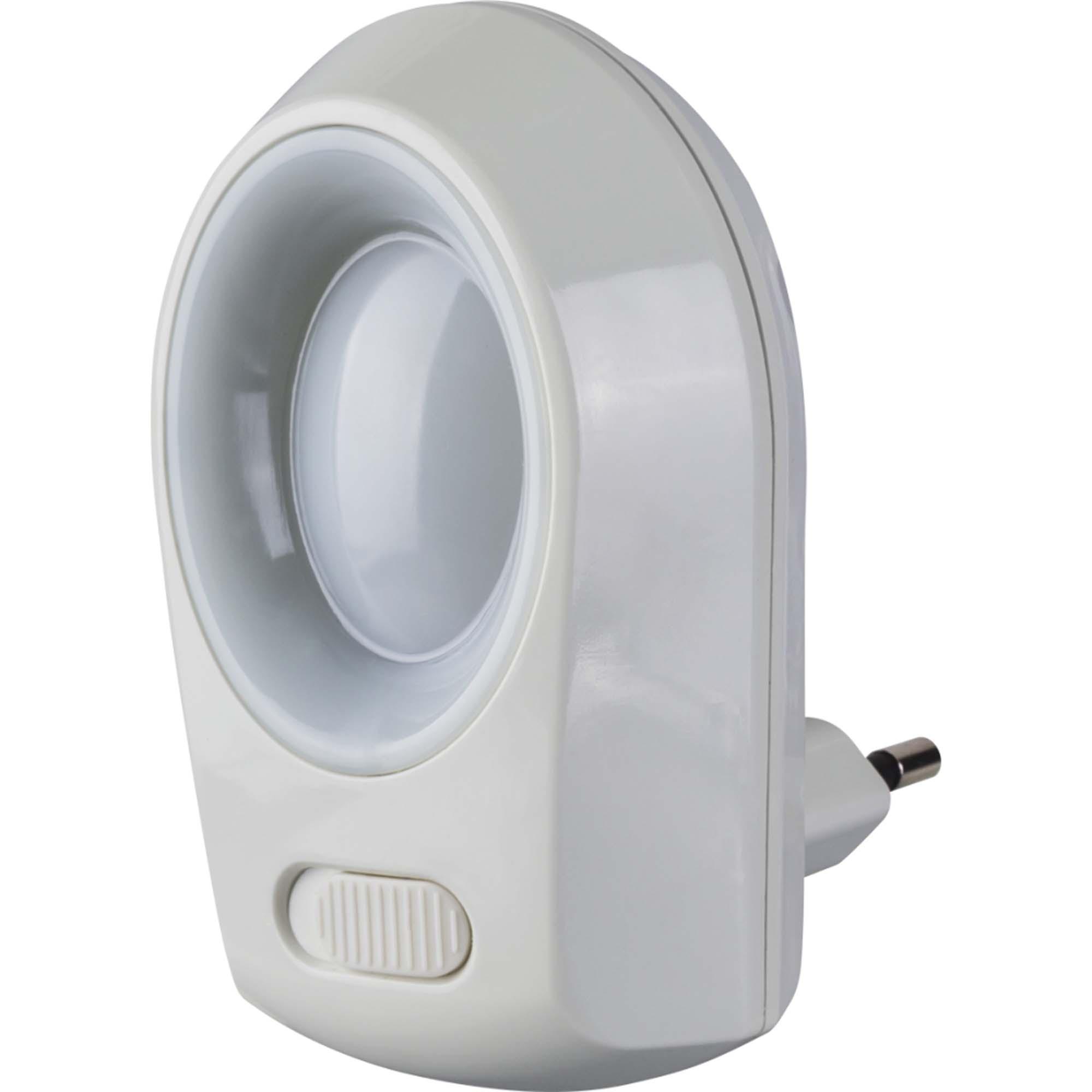 Ночник Navigator 01 с выключателем 0.5вт белый