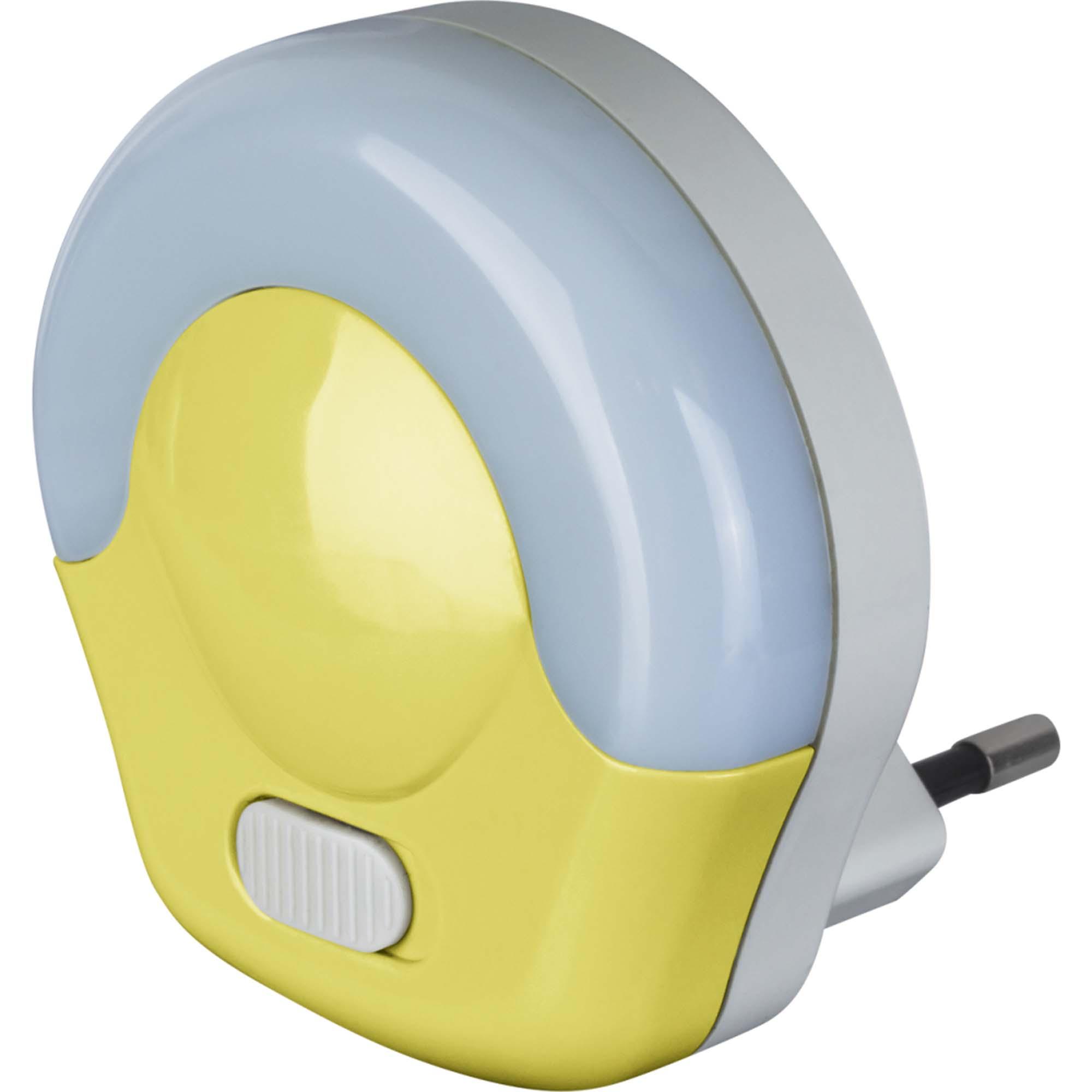 Ночник Navigator 04 с выключателем 0.5вт желтый