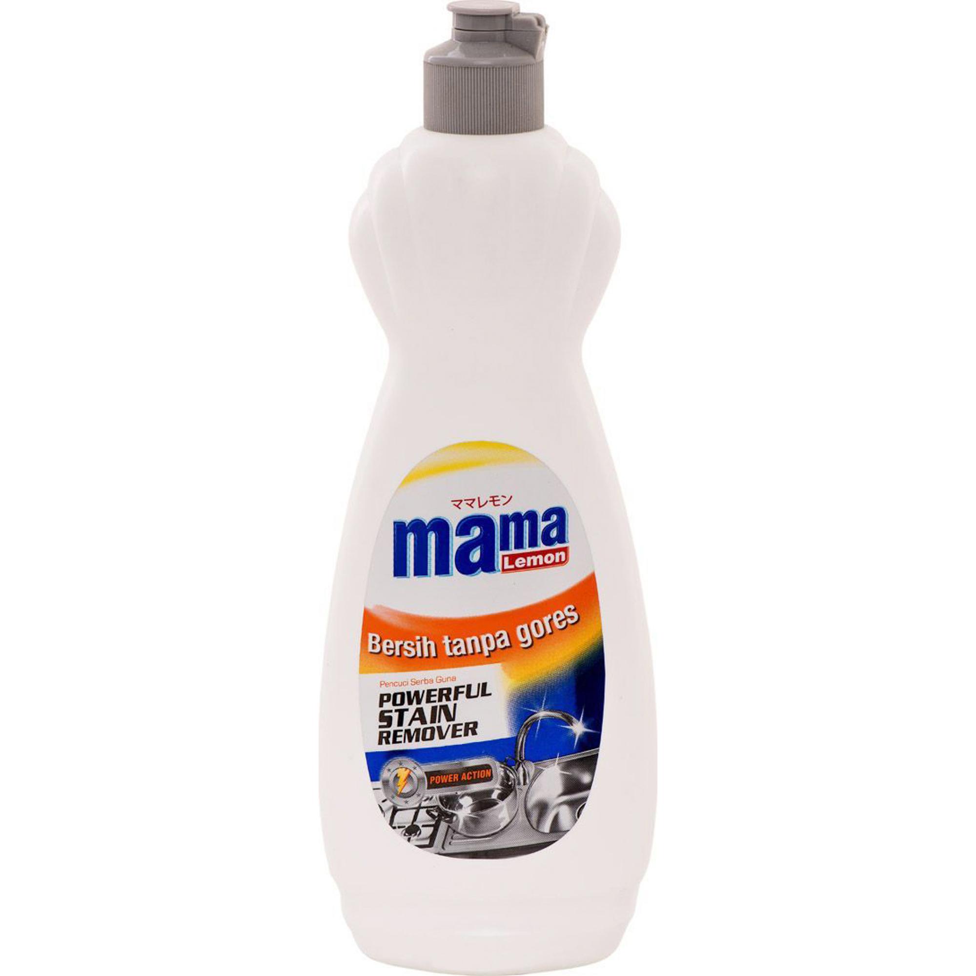 Чистящий крем для трудновыводимых пятен Mama Lemon Stain Remover 500 г фото