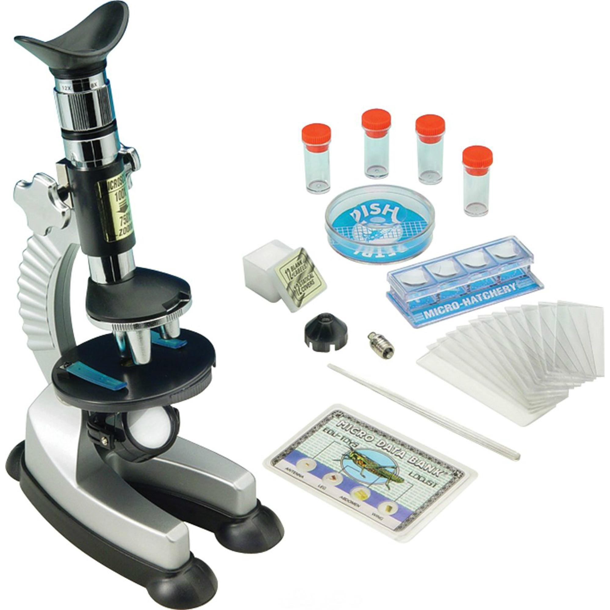 Фото - Набор для опытов Edu-toys Микроскоп 100x750 микроскоп edu toys ms907 серебристый