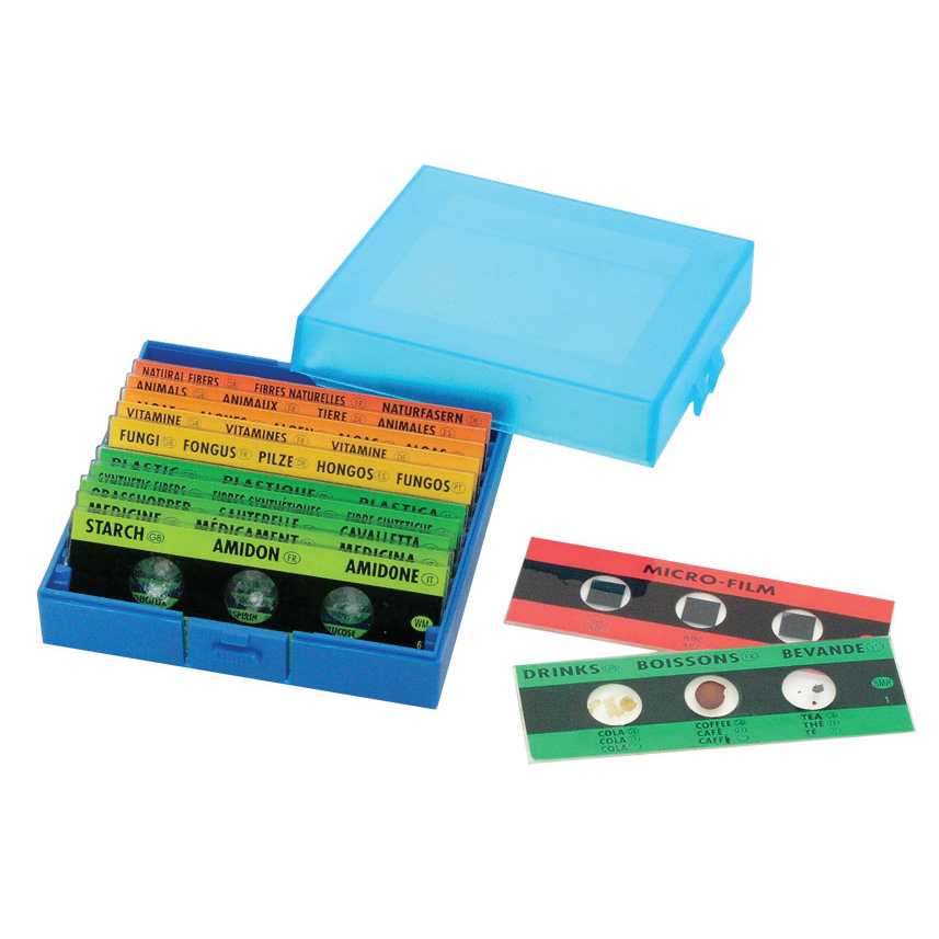 Набор слайдов для микроскопа Edu-toys 36 шт