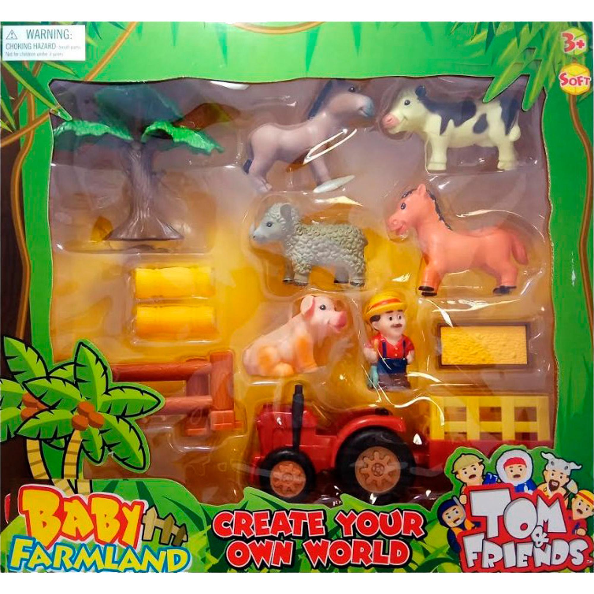 Фото - Игровой набор Toy Major Домашние животные playmobil игровой набор фермер с домашними животными