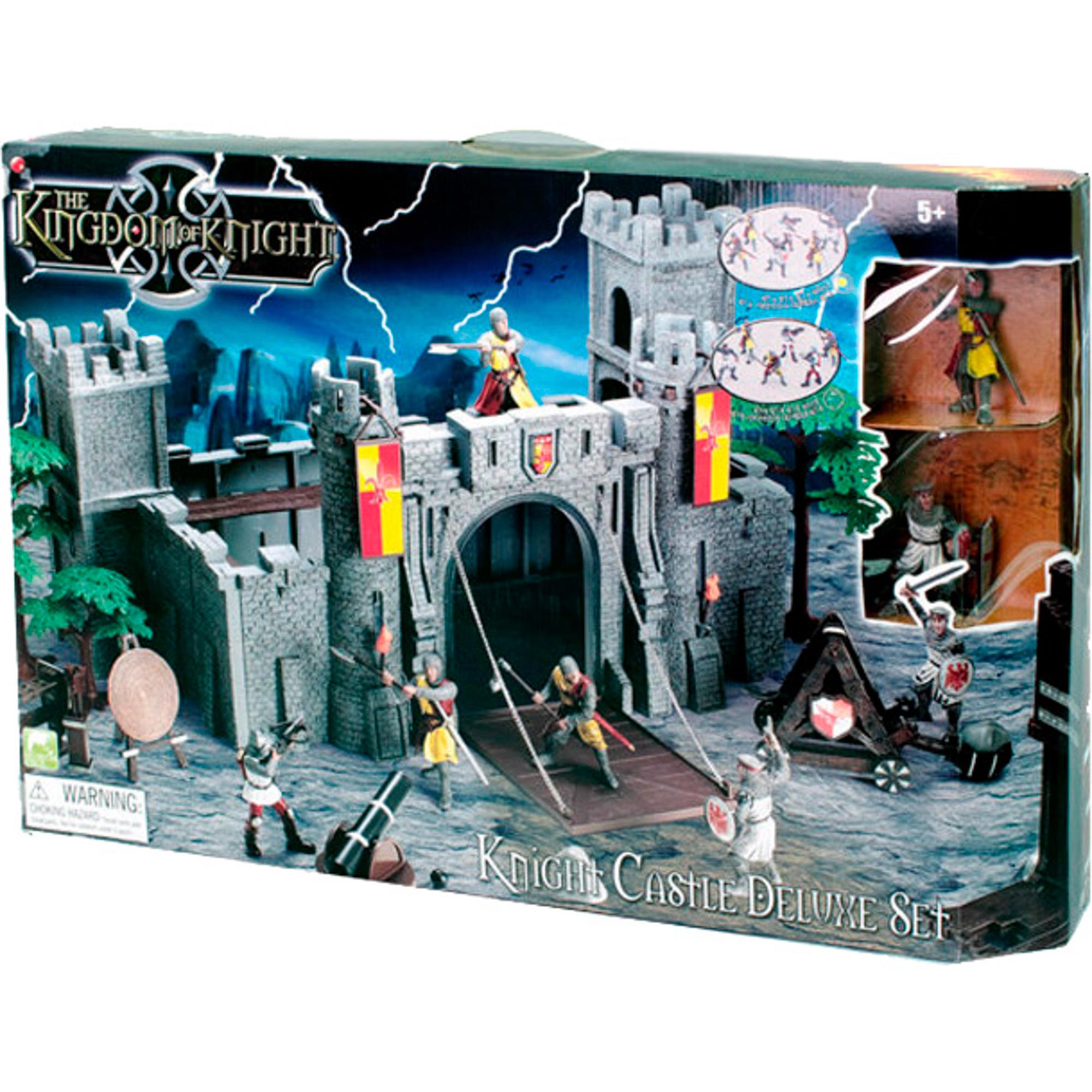 Купить Игровой набор Toy Major Рыцарский замок, набор фигурок, Китай, серый, пластик
