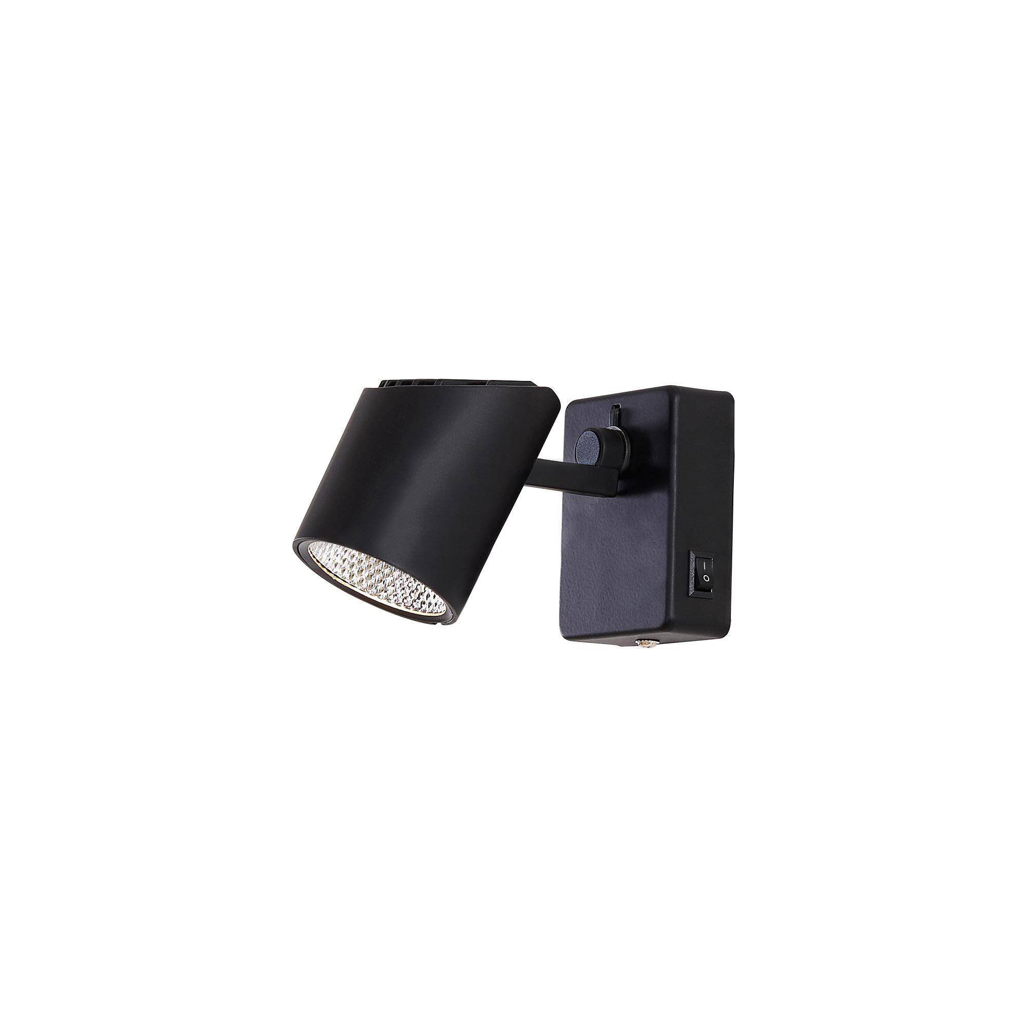 Спот светодиодный Citilux Дубль-2 черный CL556612