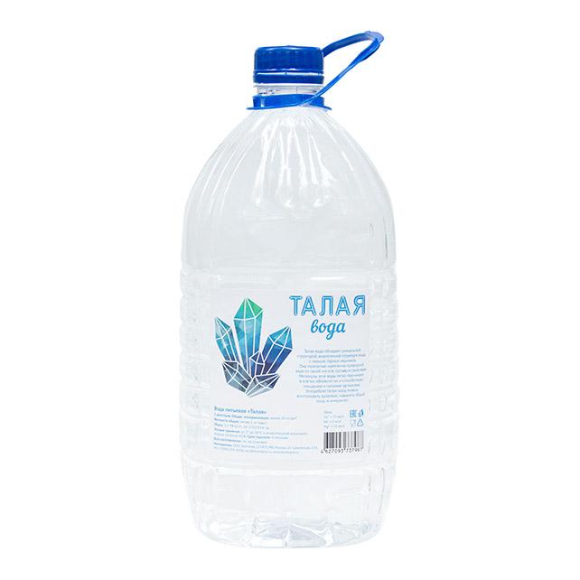 Вода питьевая Талая 5 л вода питьевая малышка 1 5 л