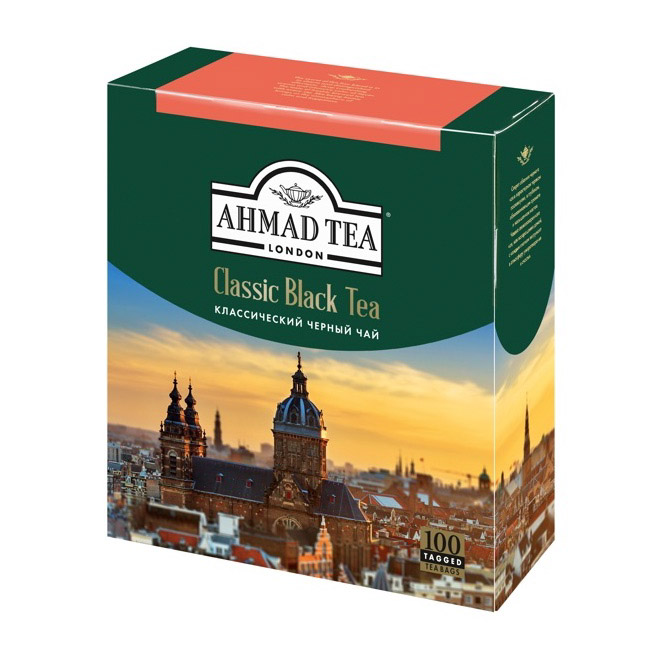 Фото - Чай Ahmad Tea Classic Black 100 пакетиков chinese ancient trees black tea leaves