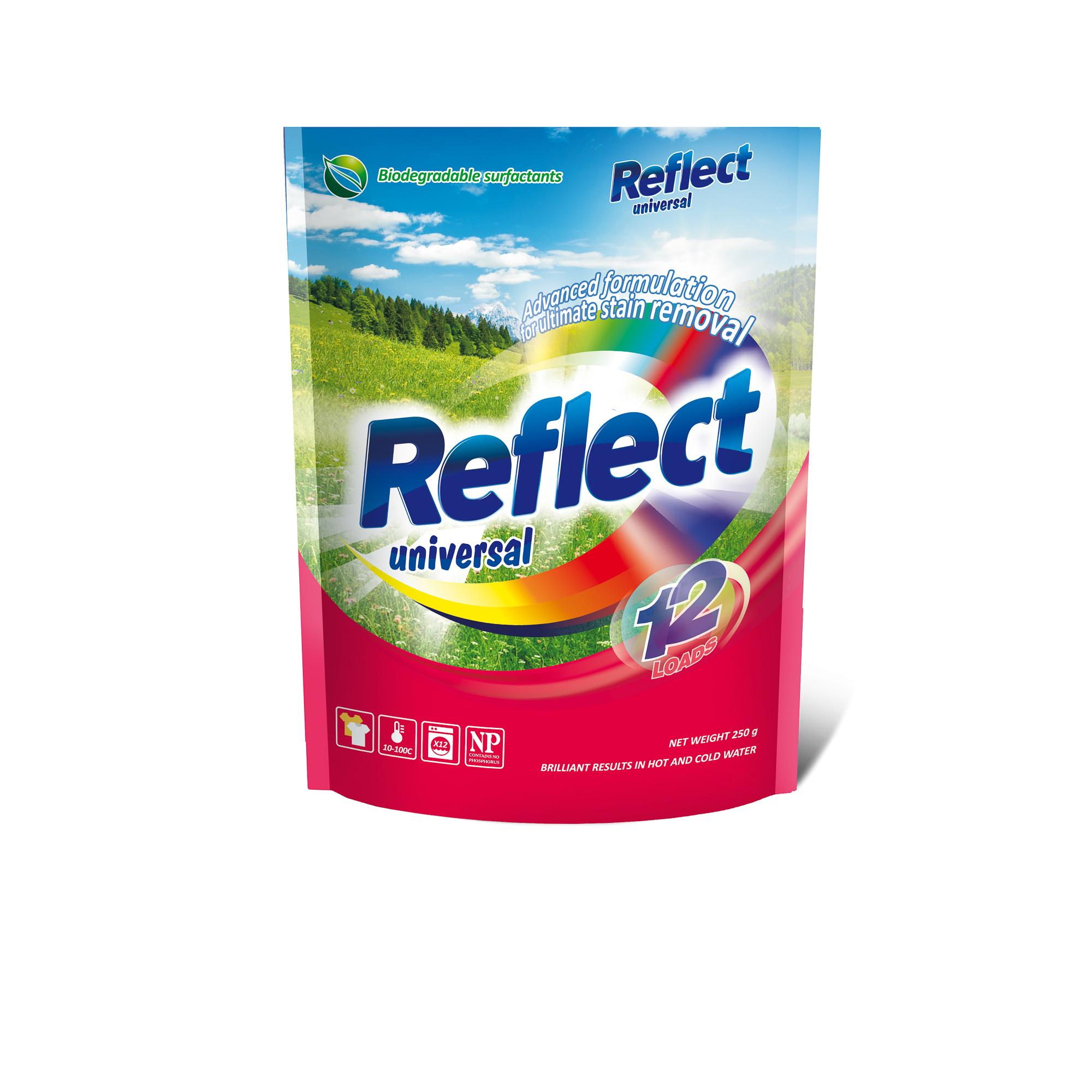 Концентрированный стиральный порошок Reflect Universal 250 г