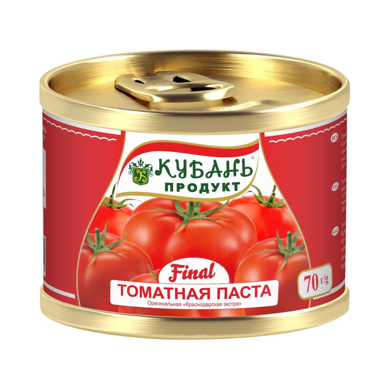 Паста томатная Кубань Продукт 70 г