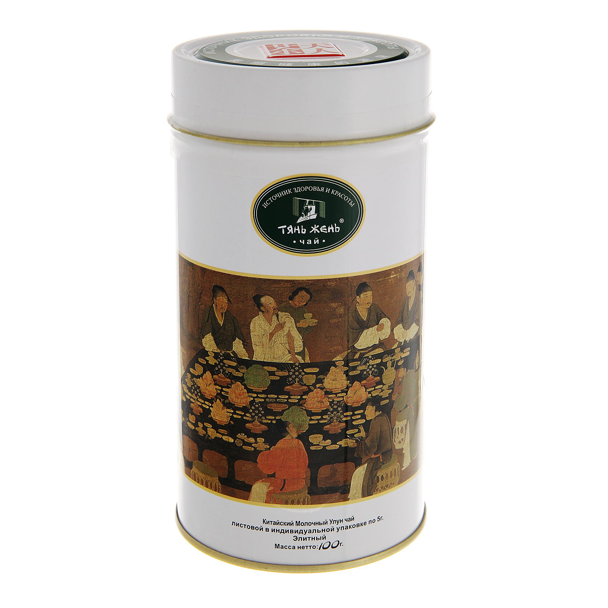 Чай Тянь-Жень молочный улун элитный 100 г фото