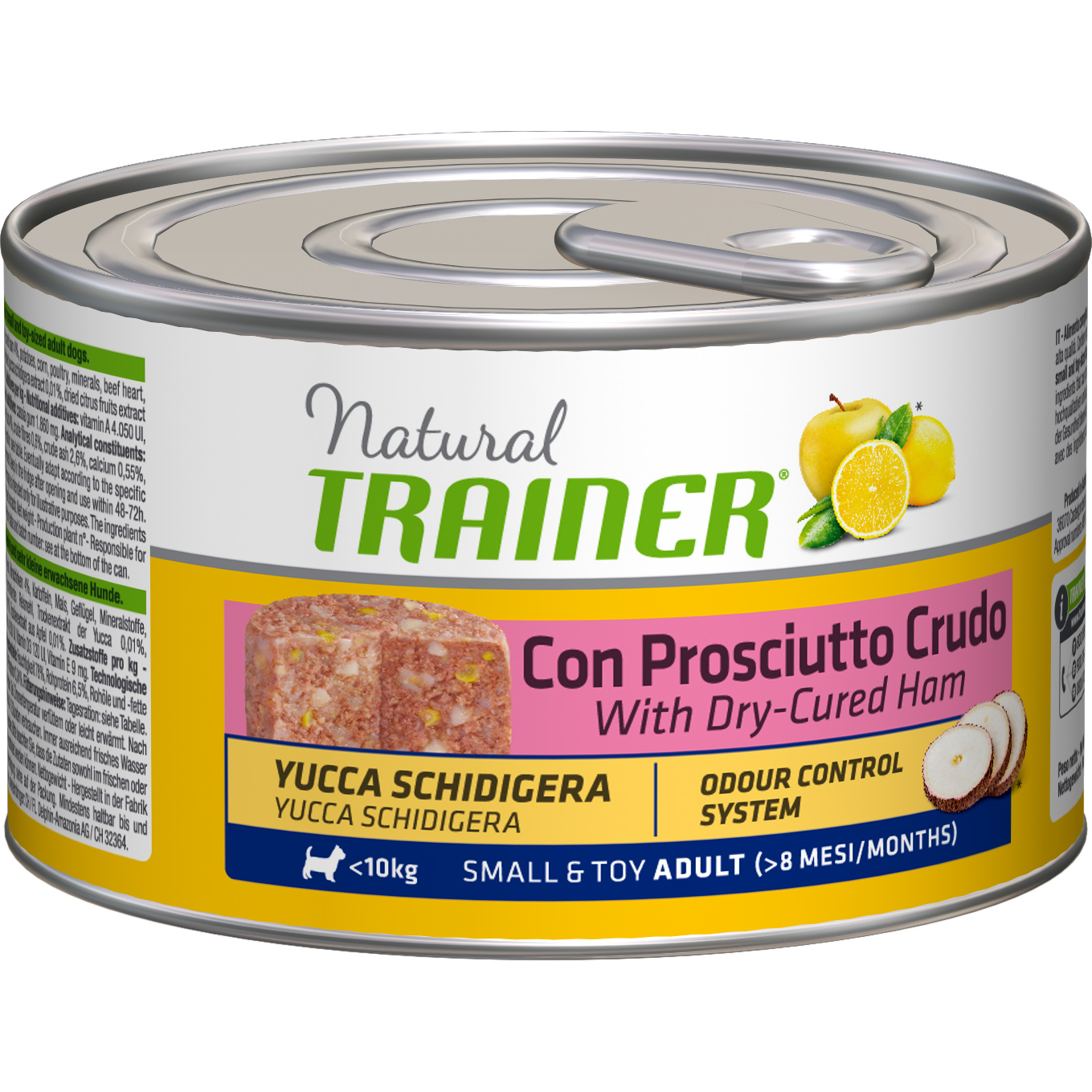 Корм для собак TRAINER Natural Dog Adult Small & Toy With Dry-Cured Ham 150 г