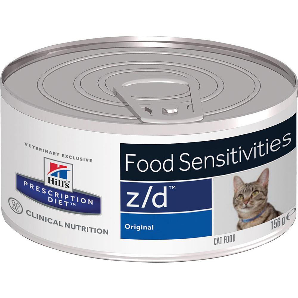 Купить Корм для кошек Hill's Prescription Diet z/d Для лечения острых пищевых аллергий 156 г, Hill`s, влажный корм