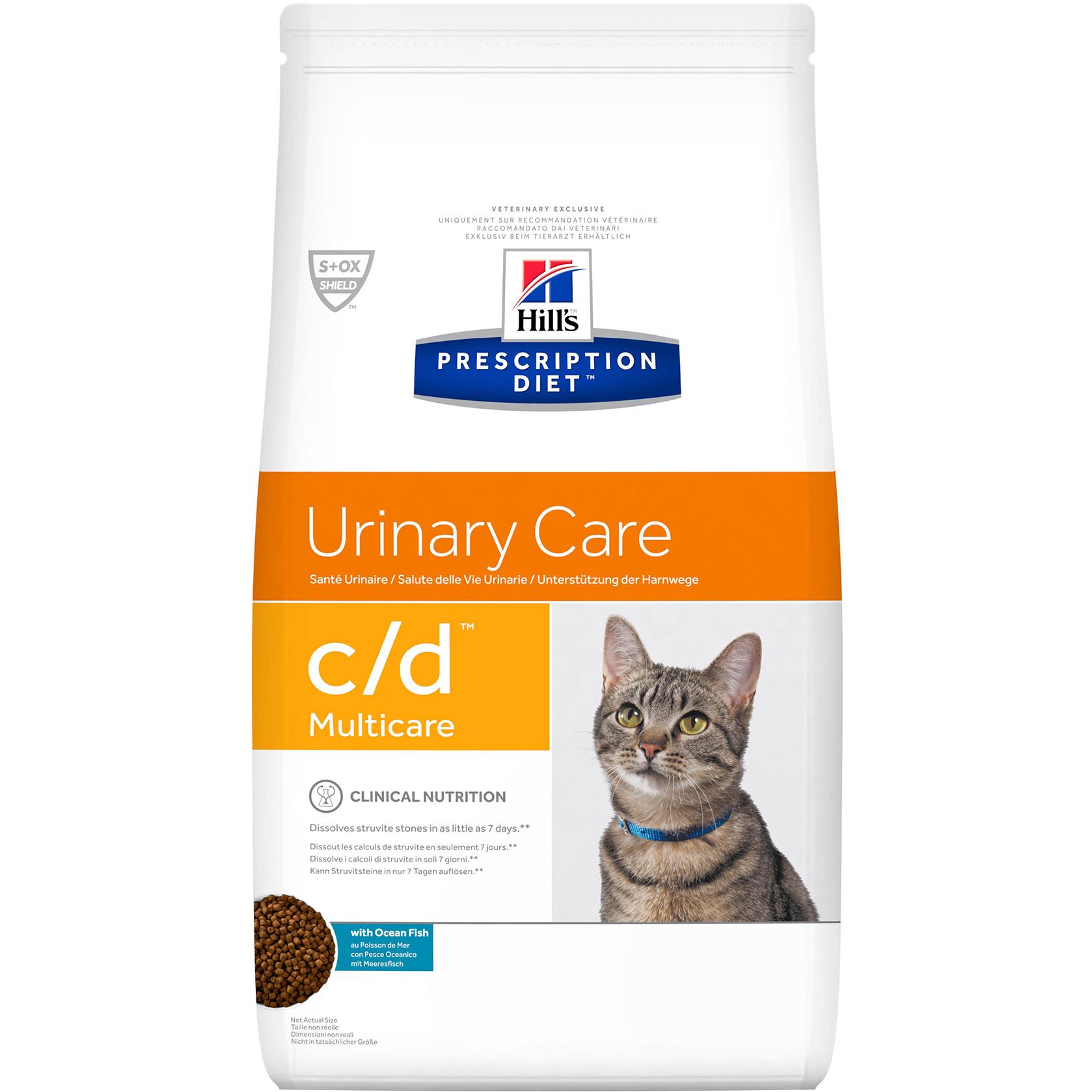 Корм для кошек Hill's Prescription Diet c/d Multicare Океаническая рыба 1,5 кг
