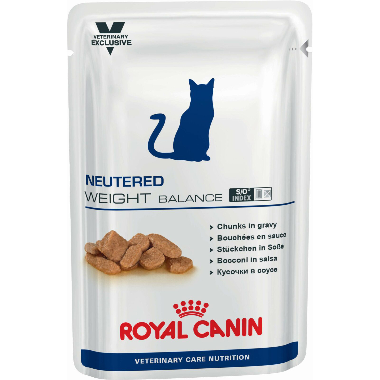 Фото - Корм для кошек Royal Canin Neutered Weight Balance для стерилизованных и кастрированных 100 г корм для кошек royal canin vet neutered young male для кастрированных котов до 7 лет птица сух 400г
