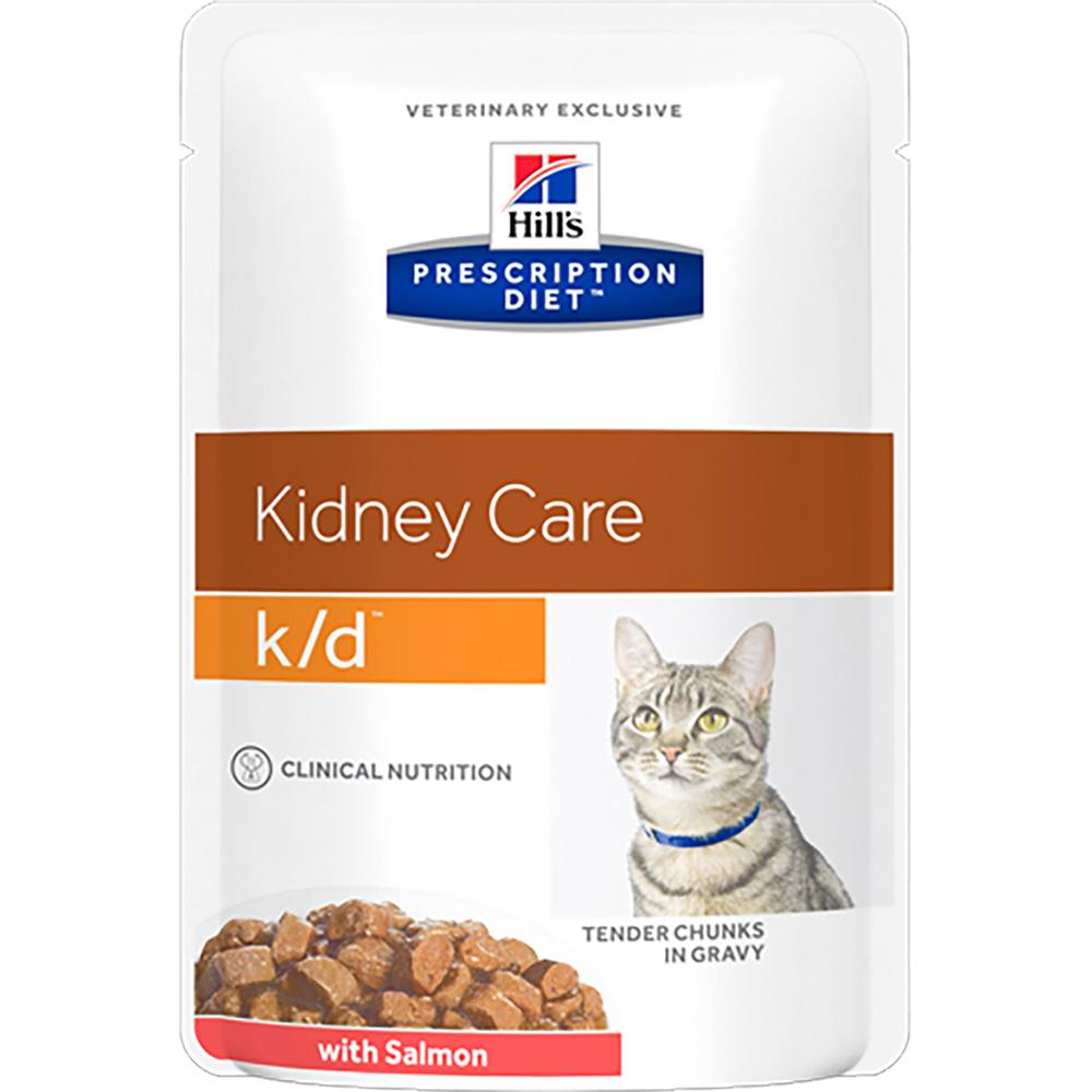 Корм для кошек Hill's Prescription Diet k/d Лосось 85 г Hill`s фото