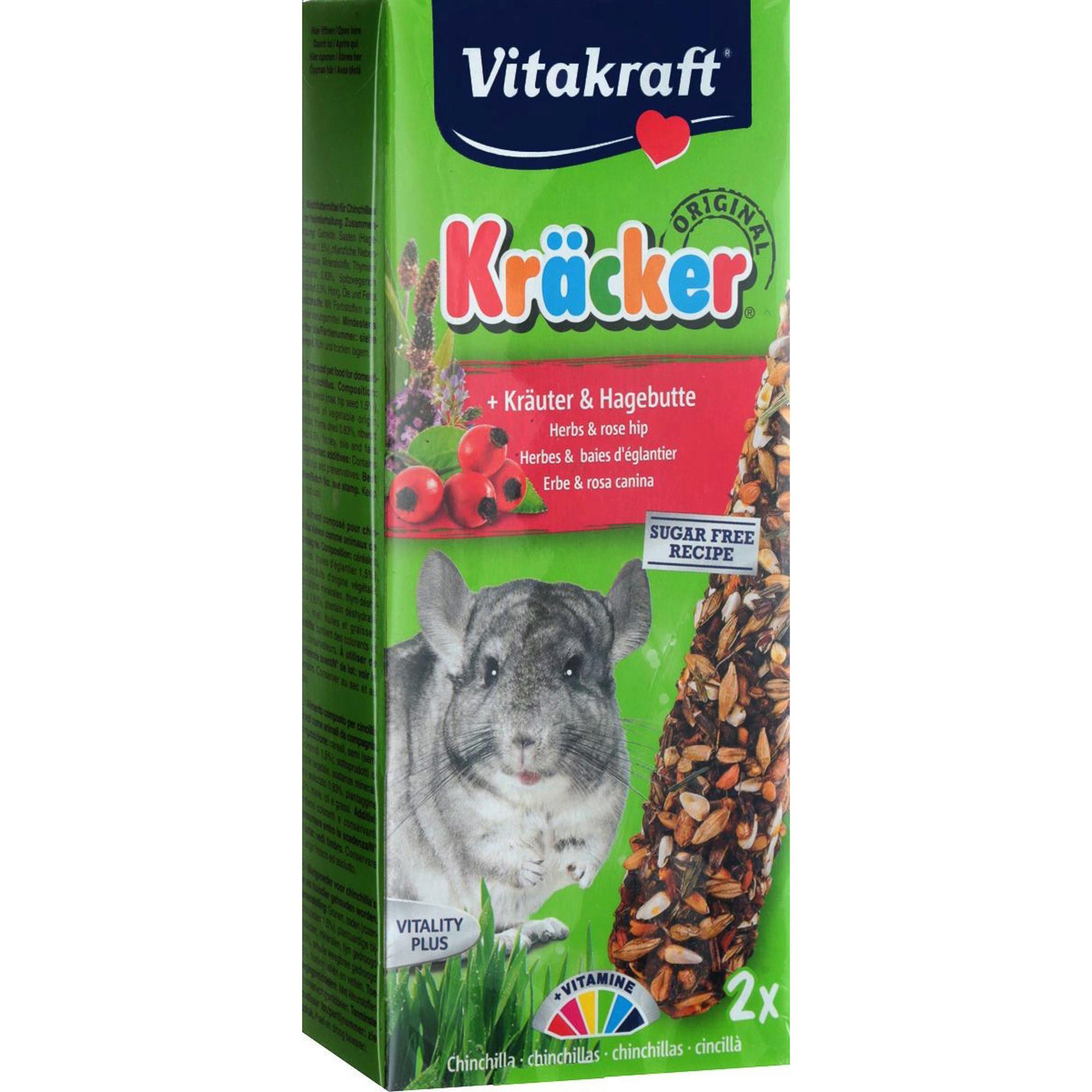 Лакомство для грызунов VITAKRAFT Крекеры с травами 2шт 112г.