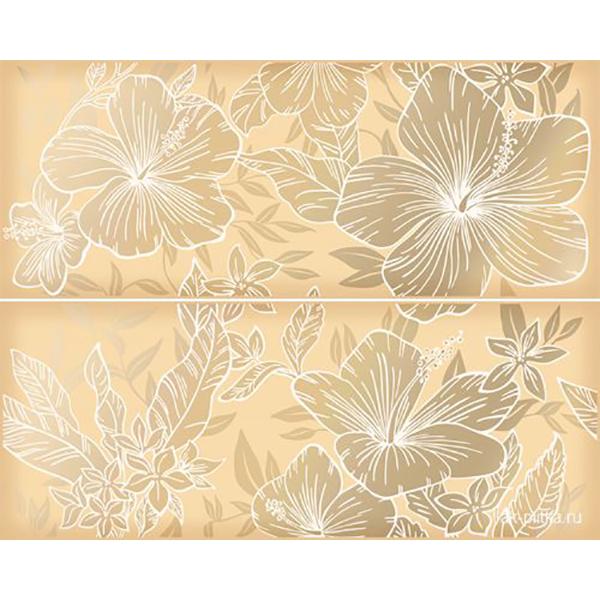 Панно Kerlife Elissa Fiore Sabbia 1С 20,1x50,5 см