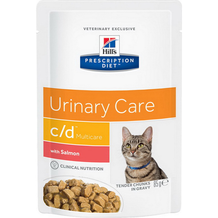 Корм для кошек HILL`S Prescription Diet Multicare Feline c/d Лосось 85 г